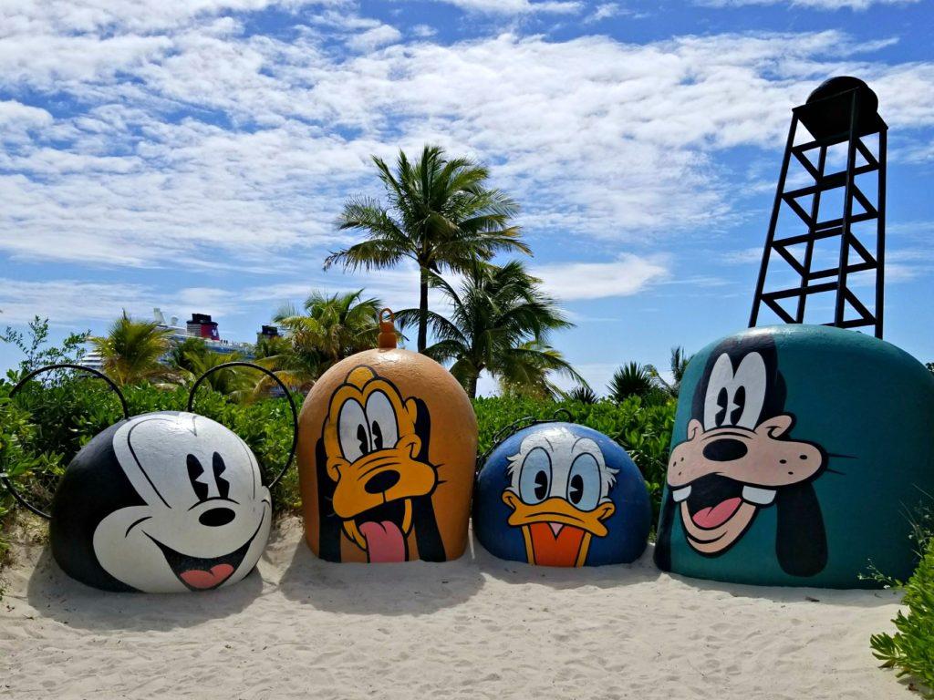 Castaway Cay Disney Character Buoy