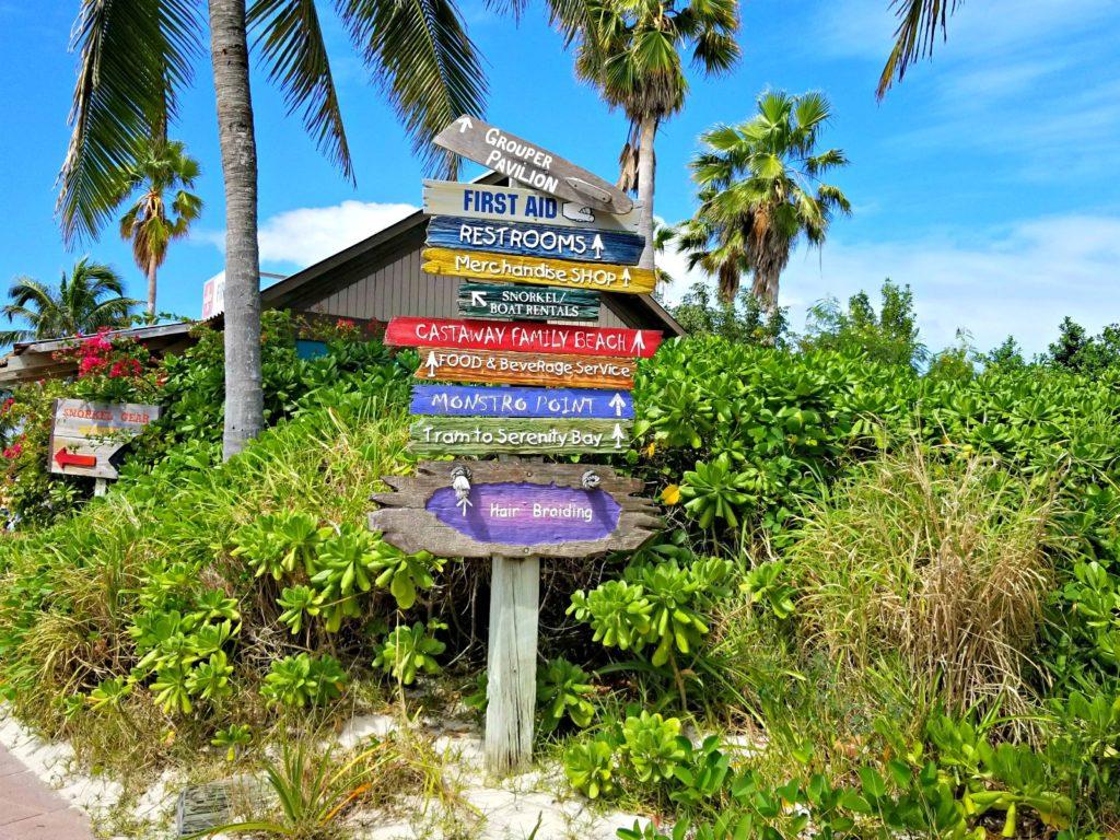 Castaway Cay Signs