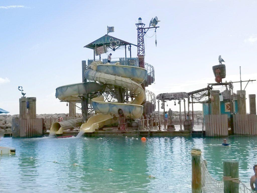 Castaway Cay Water slide