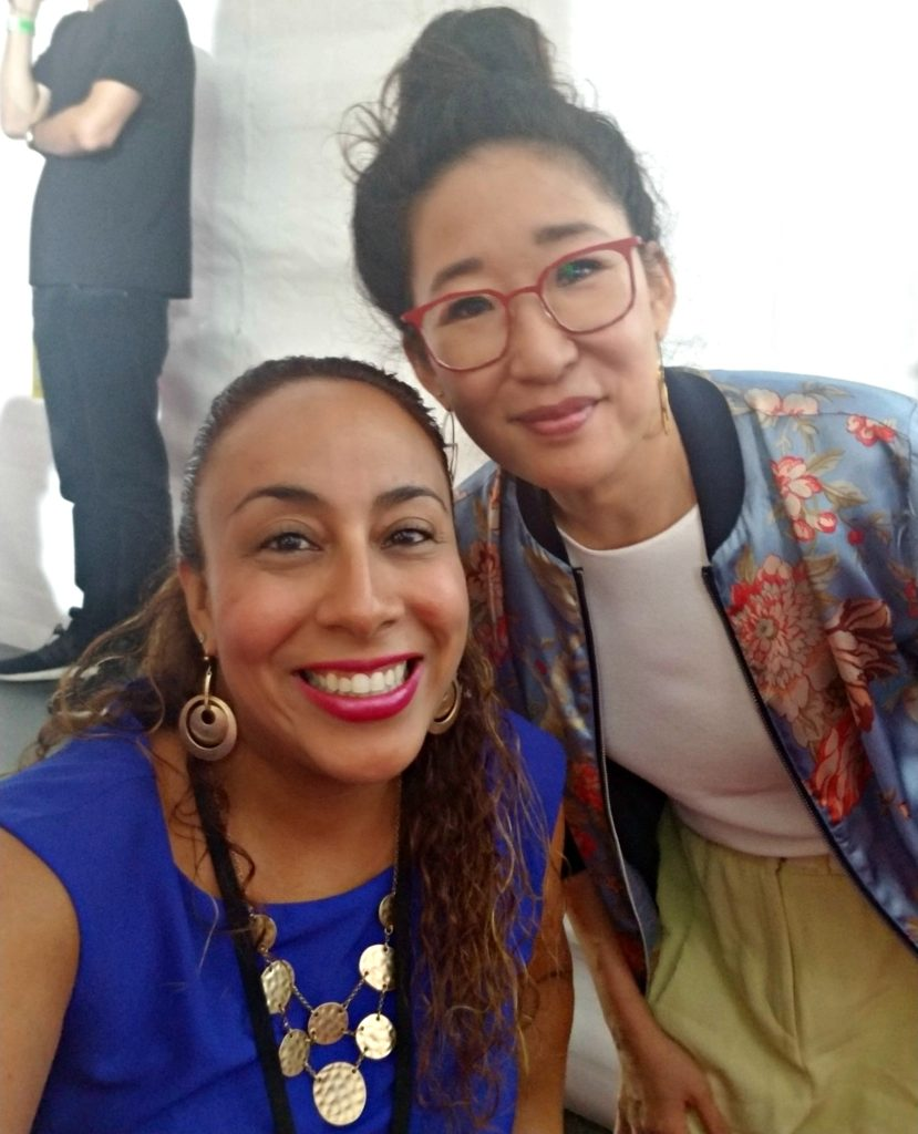 Sandra Oh at the Solo A Star Wars Story World Premiere