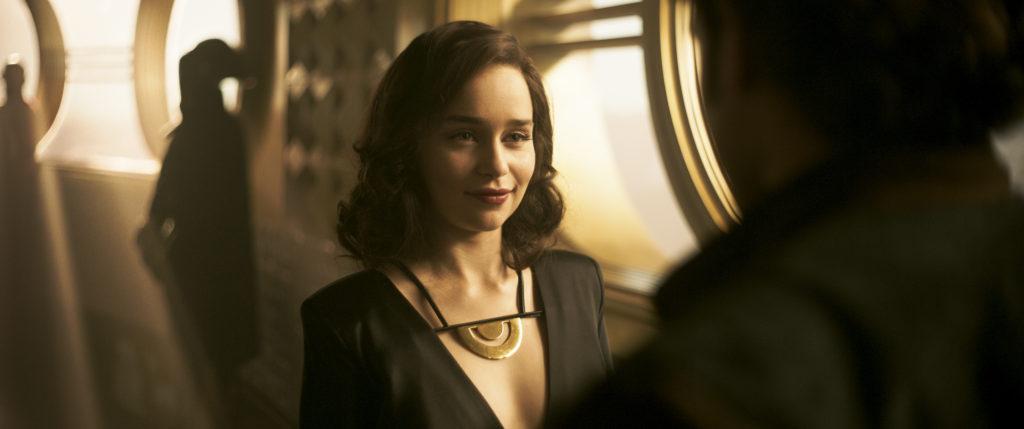 Emilia Clarke is Qi'ra