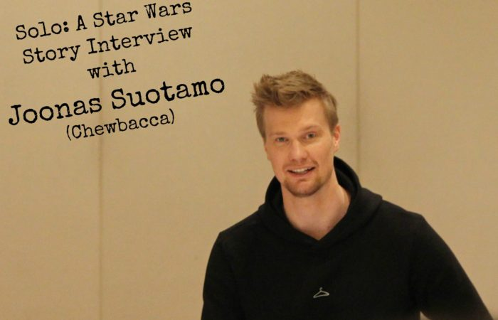 Solo: A Star Wars Story Interview with Joonas Suotamo (Chewbacca)