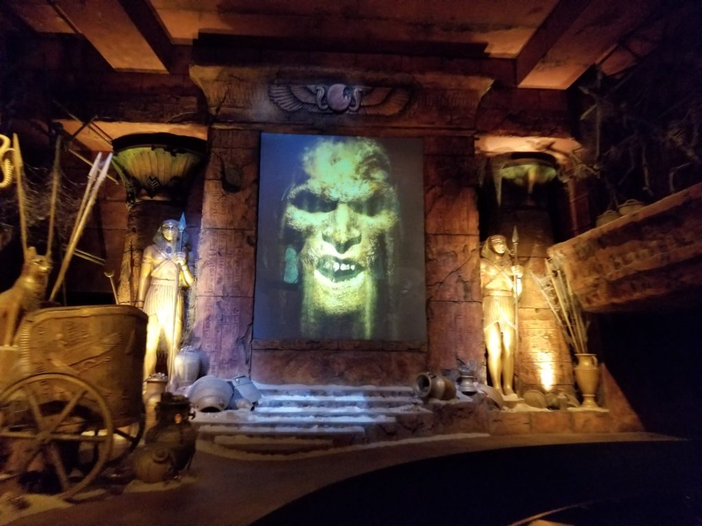 The Mummy Ride at Universal Studios Hollywood