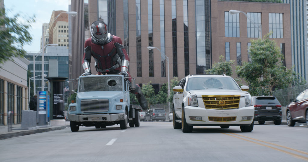 Ant-Man And The Wasp film scene