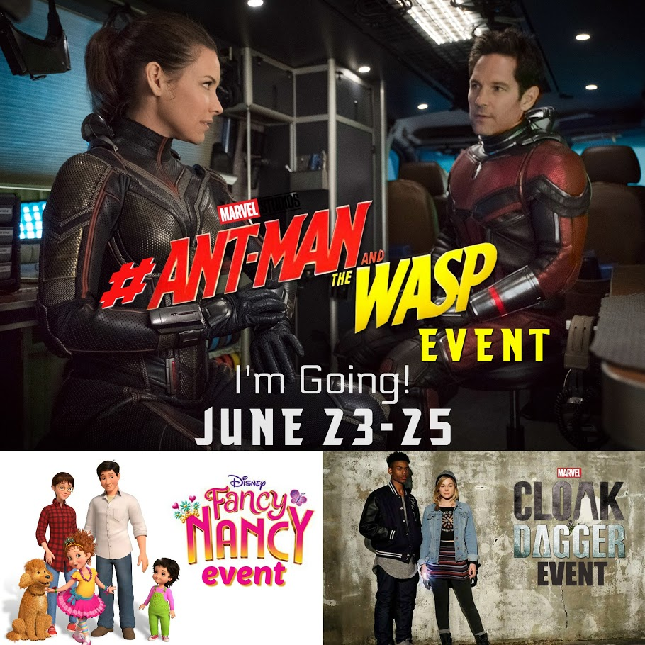 Ant-Man and the Wasp Event Button