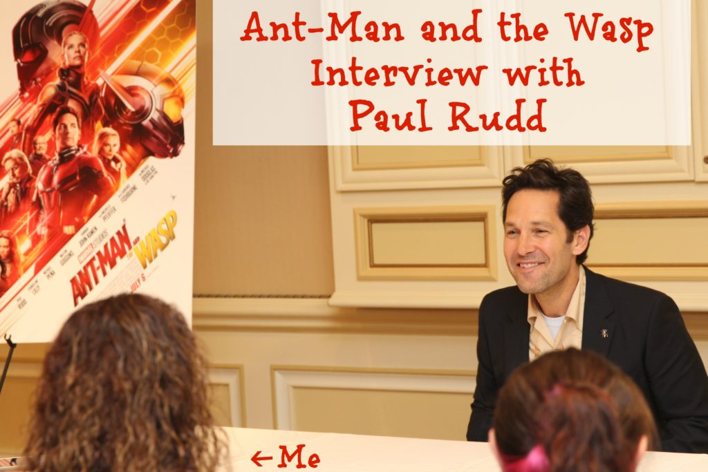 Ant-Man and the Wasp Interview with Paul Rudd