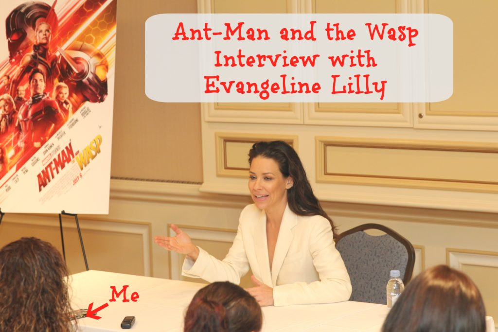 Ant-Man and the Wasp Interview with Evangeline Lilly