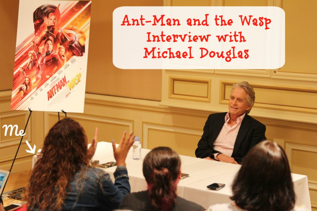 Ant-Man and the Wasp Interview with Michael Douglas