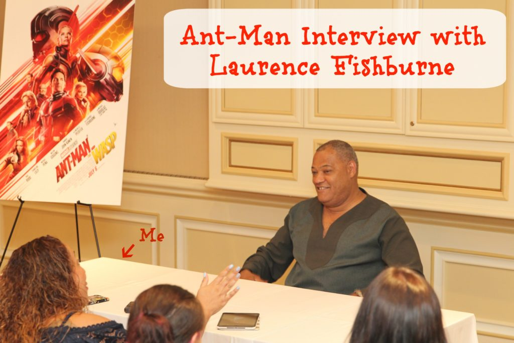 Interview with Laurence Fishburne R