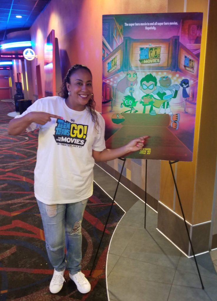 Leanette Fernandez at Teen Titans Go! To The Movies Screening