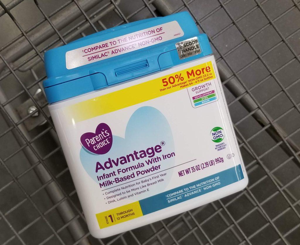 Parent's Choice Advantage Non-GMO Infant Formula