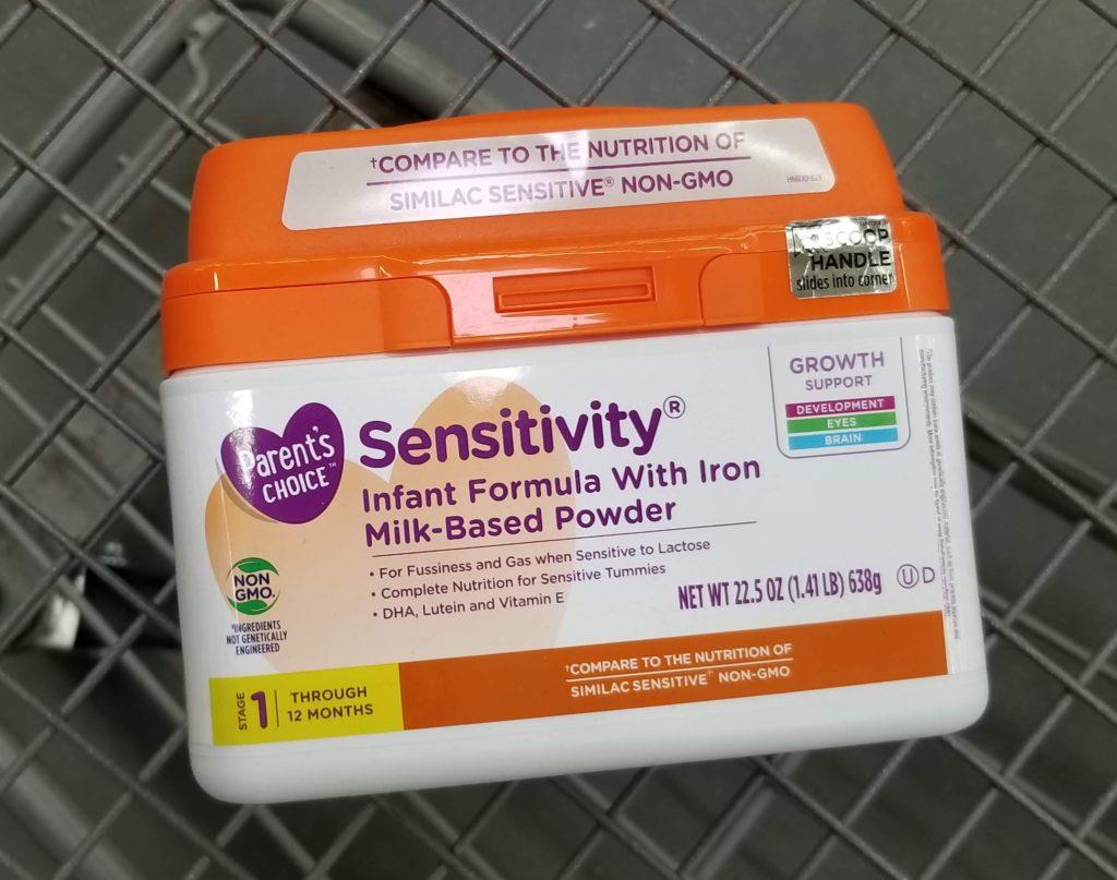 Parent's Choice Sensitivity Infant Formula