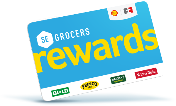 SE Grocers Reward Card