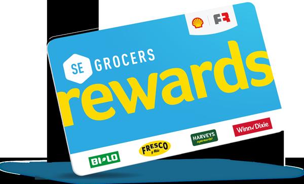 SE Grocers Reward Card