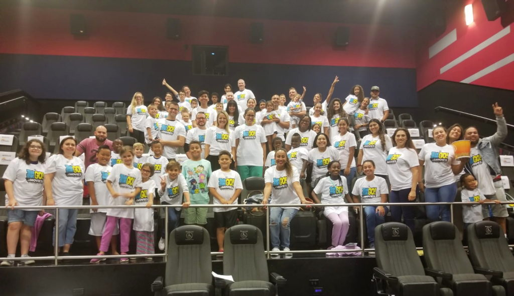 Teen Titans Go! To The Movies Screening Group Pic