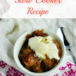3 Ingredient Apple Spice Cake Slow Cooker Recipe