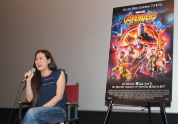 Avengers Infinity War Interview with Executive Producer Trinh Tran