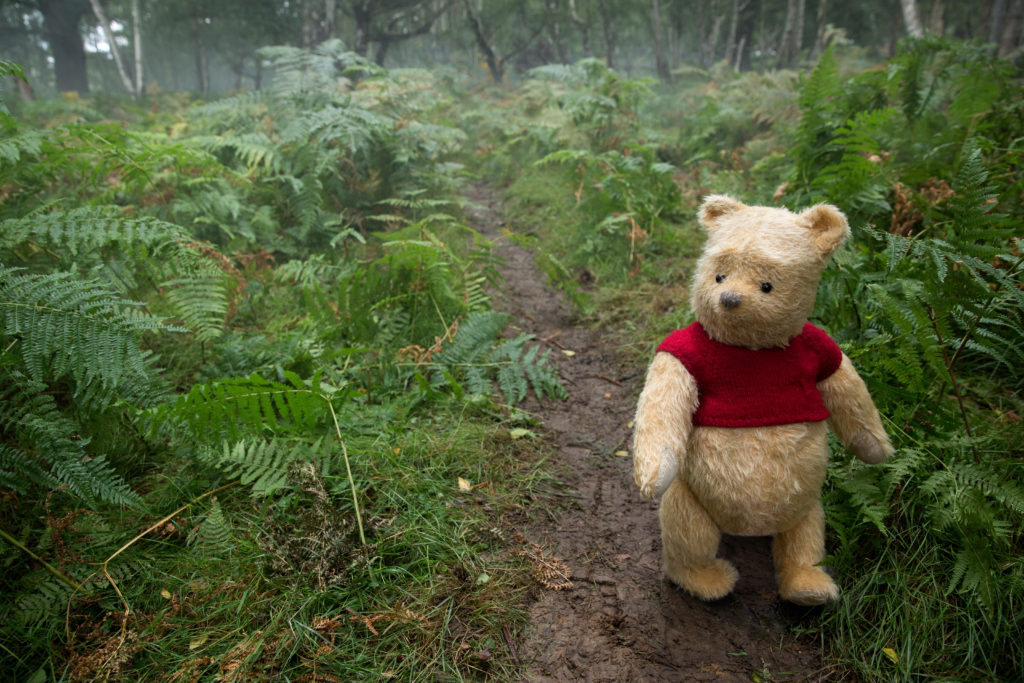 Winnie the Pooh in Disney's Christopher Robin