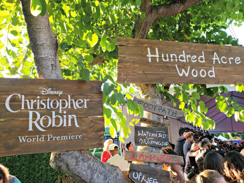 Christopher Robin World Premiere Entrance
