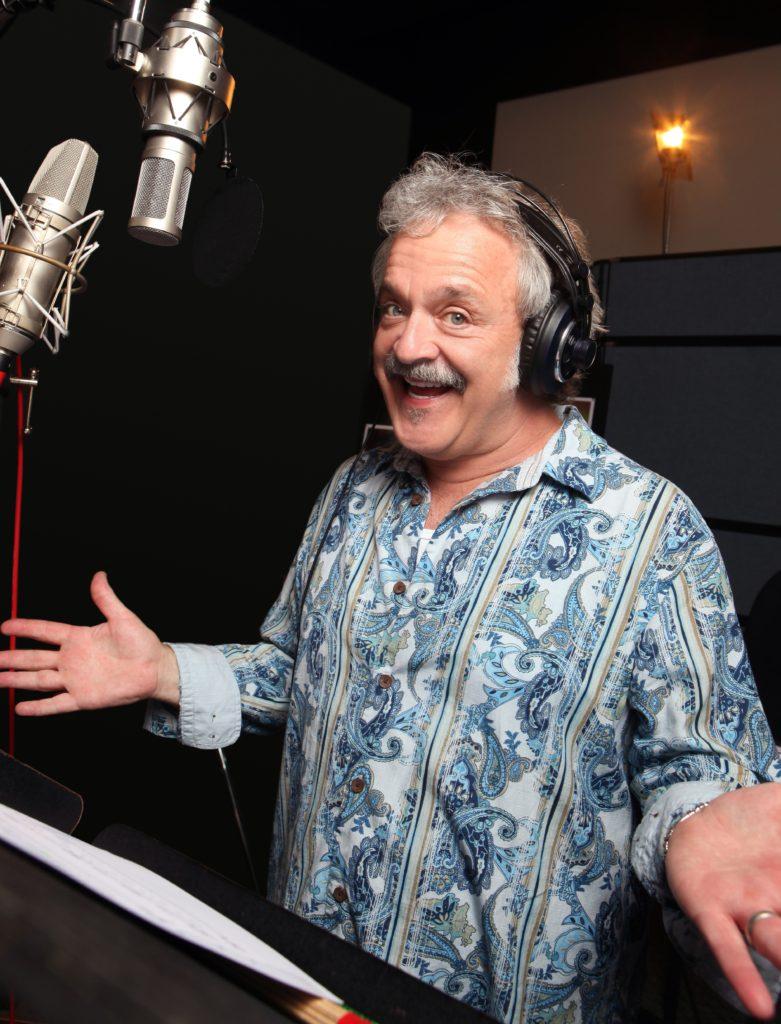 Jim Cummings recording for Christopher Robin