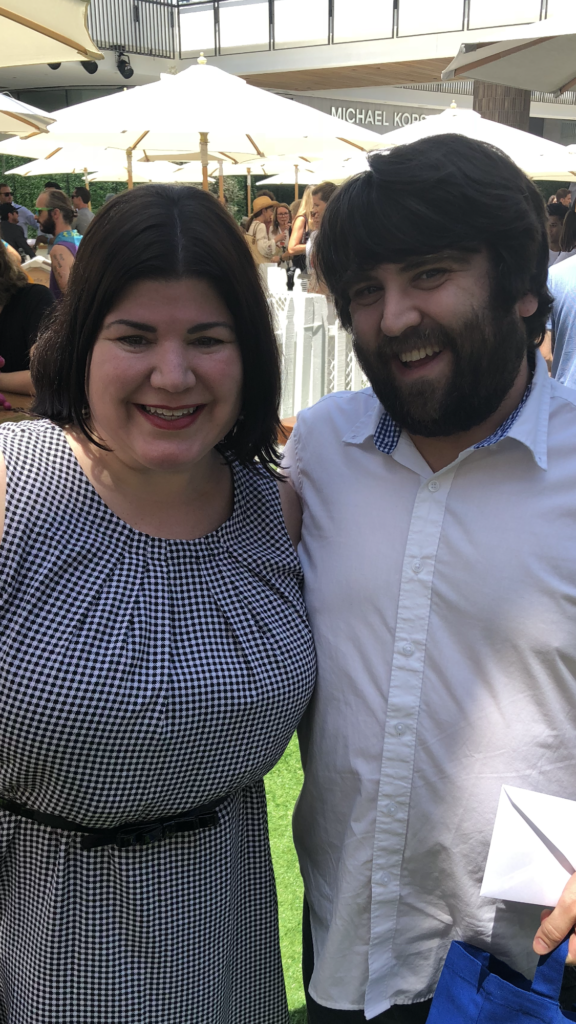 John Gemberling at Dog Days Premiere August 5, 2018