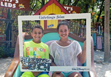 Kids at Blizzard Beach