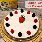 Lemon-Berry Ice Cream Pie Recipe