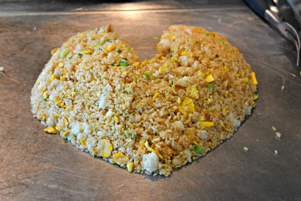 Norwegian Bliss Teppanyaki Rice