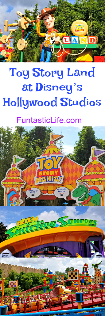 Toy Story Land at Hollywood Studios Pin