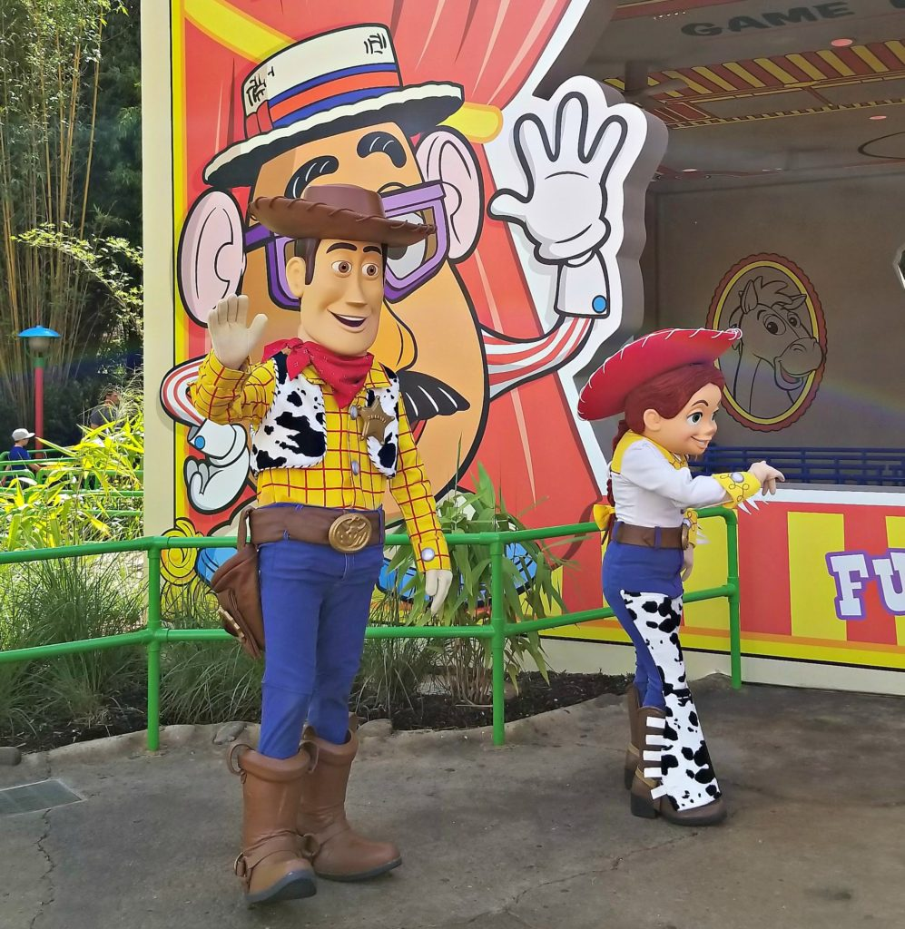 Toy Story Characters at Toy Story Land