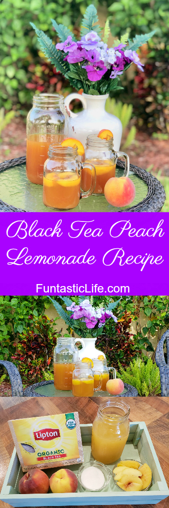 Black Tea Peach Lemonade Recipe