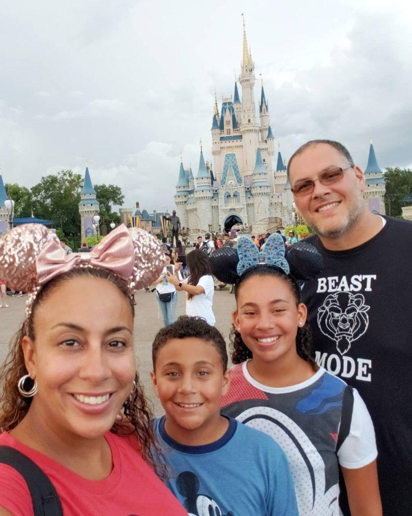 Family at Magic Kingdom