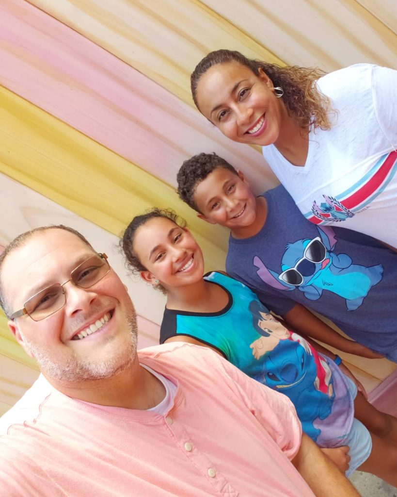 Family at Toy Story Land