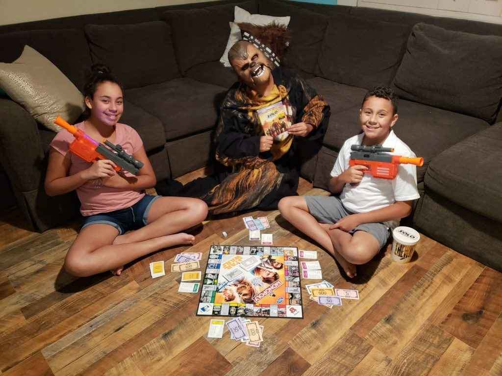 Solo A Star Wars Story Movie Game Night