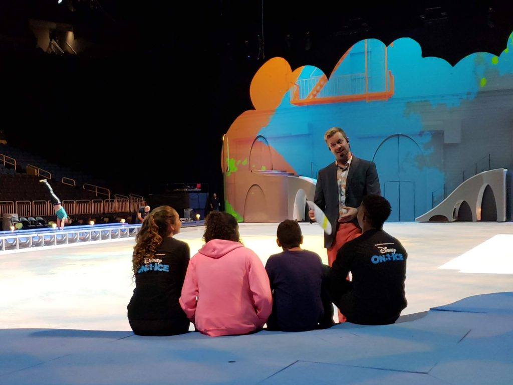Disney On Ice Mickey's Search Party Reharsal