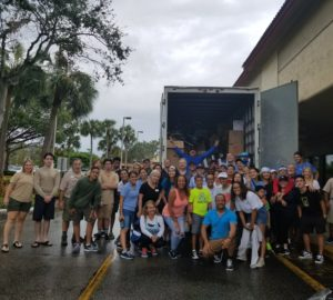 Loading up a truck for Hurricane Irma Relief