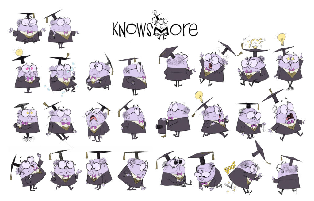 KnowsMore character