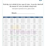 FREE Printable Water Intake Log