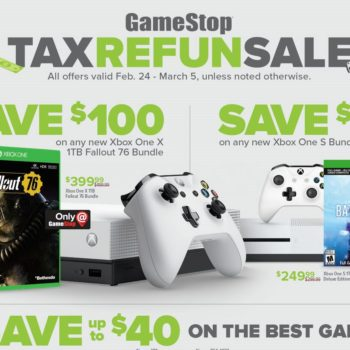 Take Advantage of GameStop's 2019 Tax Sale