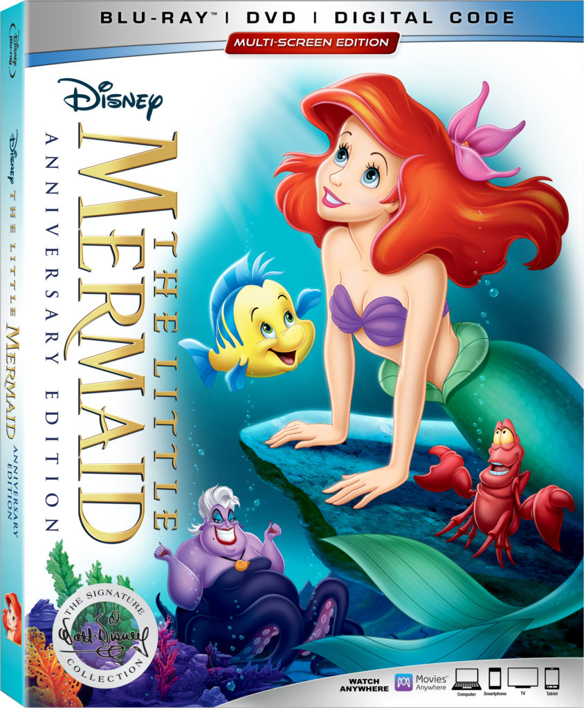 The Little Mermaid DVD