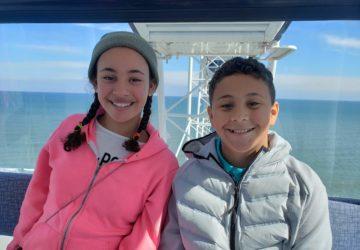 Kids in a Sky Wheel