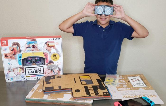 Enter the Family Friendly World of Nintendo Labo: VR Kit
