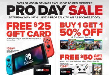 GameStop Sale Flyer
