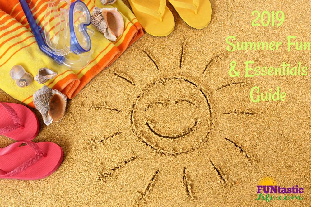sun and beach items