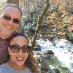 Couple in Gatlinburg, Tenneessee