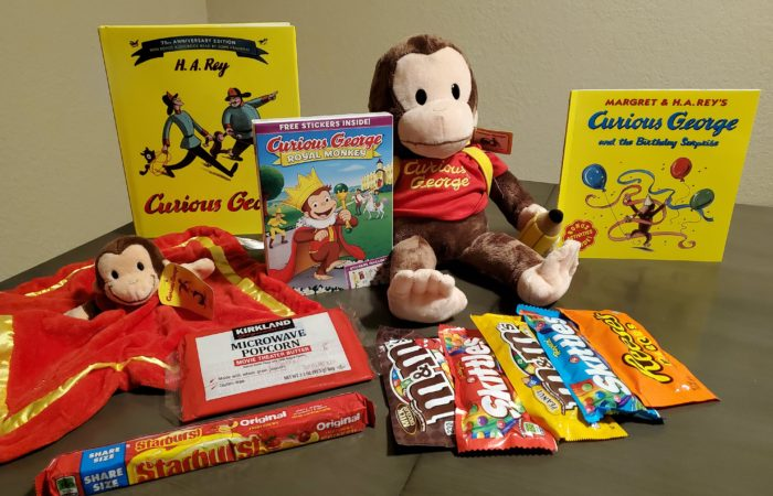 Curious George: Royal Monkey is now on DVD
