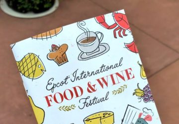 Epcot Food Festival Passport