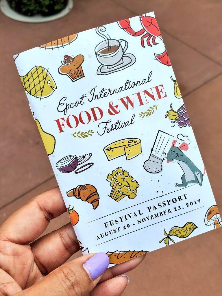 Epcot Food Festival Passport