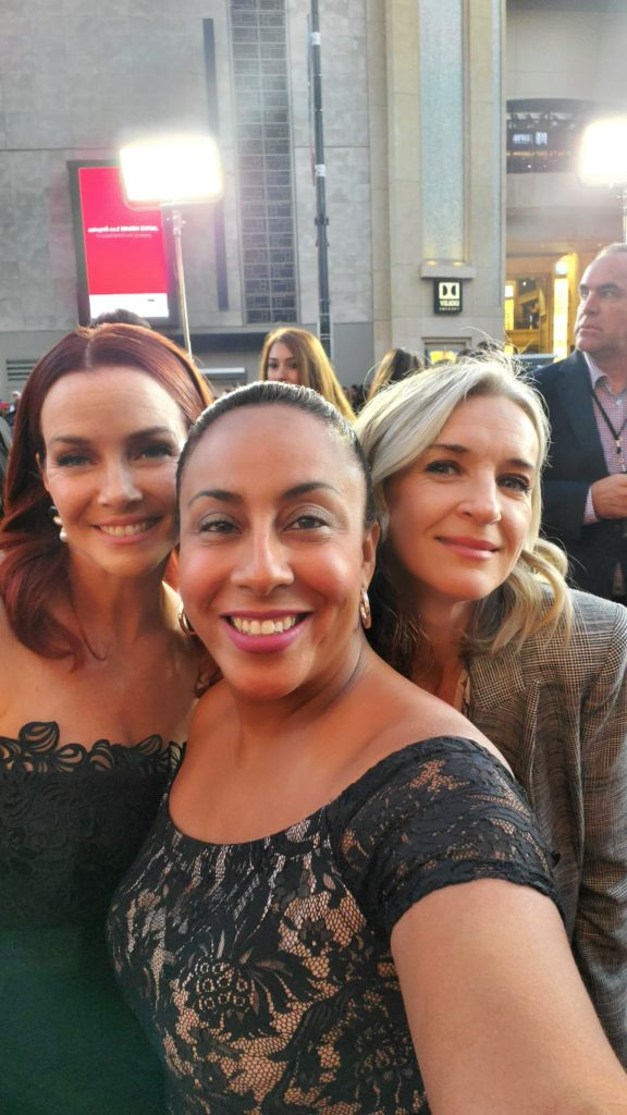 Ever Carradine and Annie Wersching