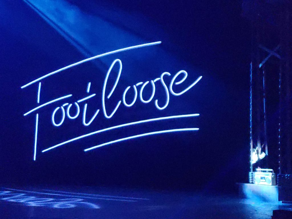 Footloose Show Sign